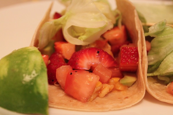 Fresh Margarita Chicken Taco's