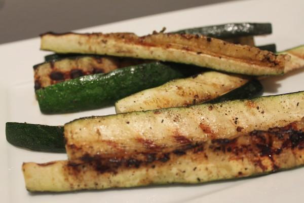 Grilled Zucchini Sticks