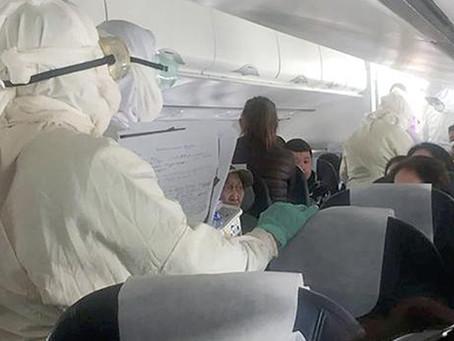 Intervenido un avión por la muerte de un matrimonio infectado por un brote de peste tras comer carne
