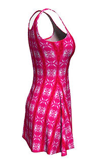 pink lavaxed flare dresses.jpg
