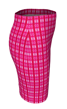 Pink Lavaxed fitted-skirt-861022-right-f