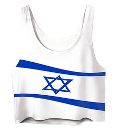 jewish waving flag crop top.jpg