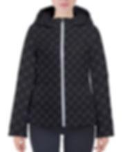 mud-di signature upsidedown black hooded