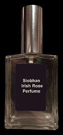 siobhan irish rose perfume bottle photo.