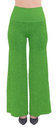 green dust So vintage palazzo pants (1).