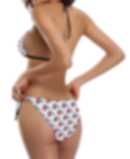 cuban flapping flags buckle front halter