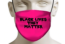 drippping black lives they matter pink f