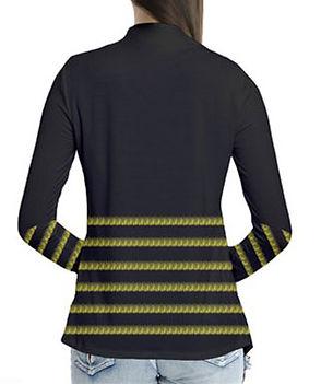 byb stripes drape collar cardigan (2).jp