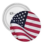flapping american flag 2.25 in button.pn