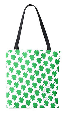 irish green clover tote bag .jpg