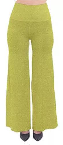 yellow specs so yintage palazzo pants (1