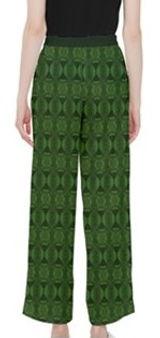 hunter green kaleidoscope dress pants (2