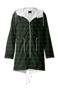 green kaleodoscope rain coat.png