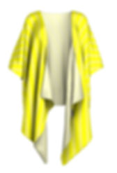 brite yellow faded white lines draped ki