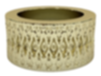 indented diamonds band ring 18k yg.png