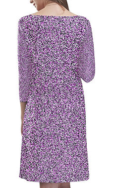 Composition Pink Rhea Loose Round Neck D