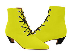 yellow_women_s_pointed_toe_low_heel_boot