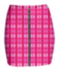pink lavaxed zip mini skirt.png