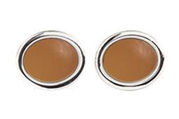 buttered cream oval cufflinks.jpg