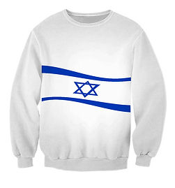 jewish waving star sweatshirt.jpg