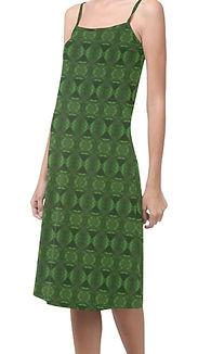 green bouncy alcestis slip dress. (2).jp