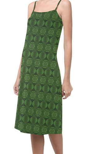 green bouncy alcestis slip dress. (2).jp