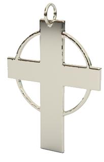 hallow circle cross pendant 14k wg.png
