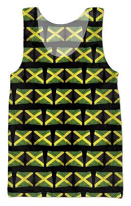 Men's Jamaican Flags Tank Top.jpg