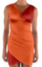 oranges wrap front bodycon dress.jpg