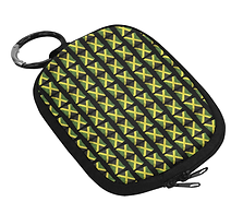 jamaican flags oval coin purse .png