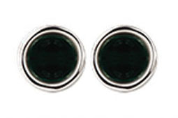 Emerald Pool Rim Round Cufflinks.jpg