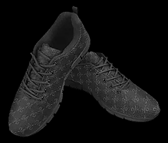 mud-di signature smoky gray running shoe