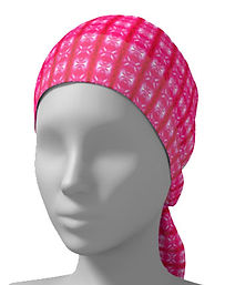 pink lavaxed head wrap scarf.jpg
