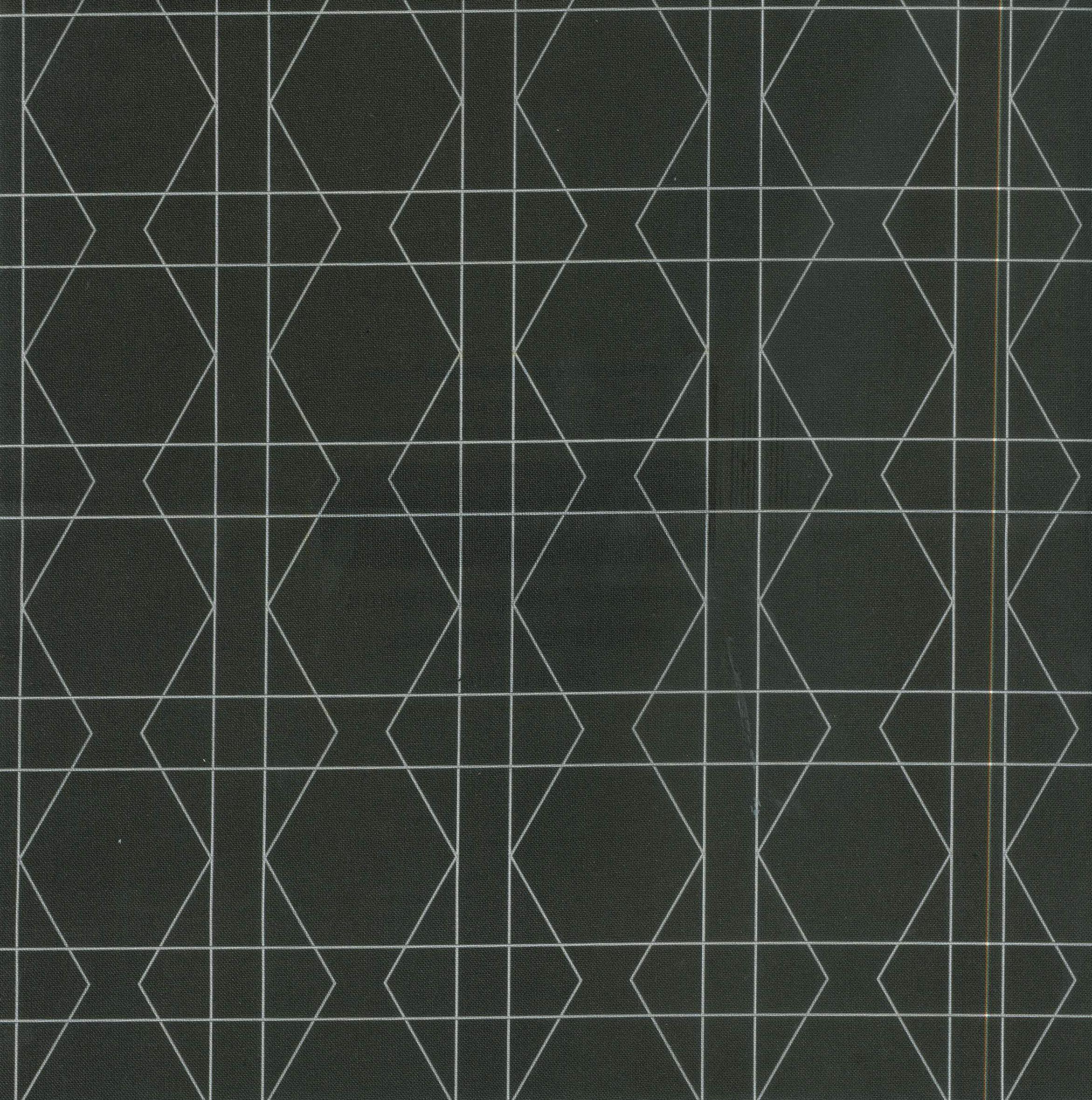 w tri squares b fabric design