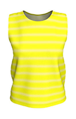 Brite Yellow Faded White Lines loose tan