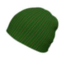 african diaganol green flower beanie.jpg