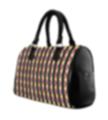 kente stripes boston handbag.png
