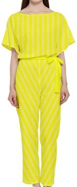 brite yellow faded white lines batwing l