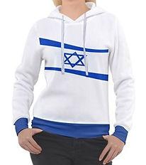 jewish waving flag overhead hoodie .jpg
