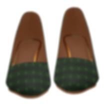 green glass kaleidoscope low heels (1).p