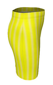 brite yellow lines vertical liness skirt