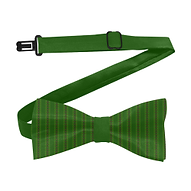 african diagonal green flowers bow tie.p