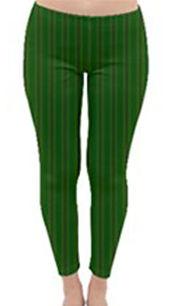 african diagonal green flower winter leg