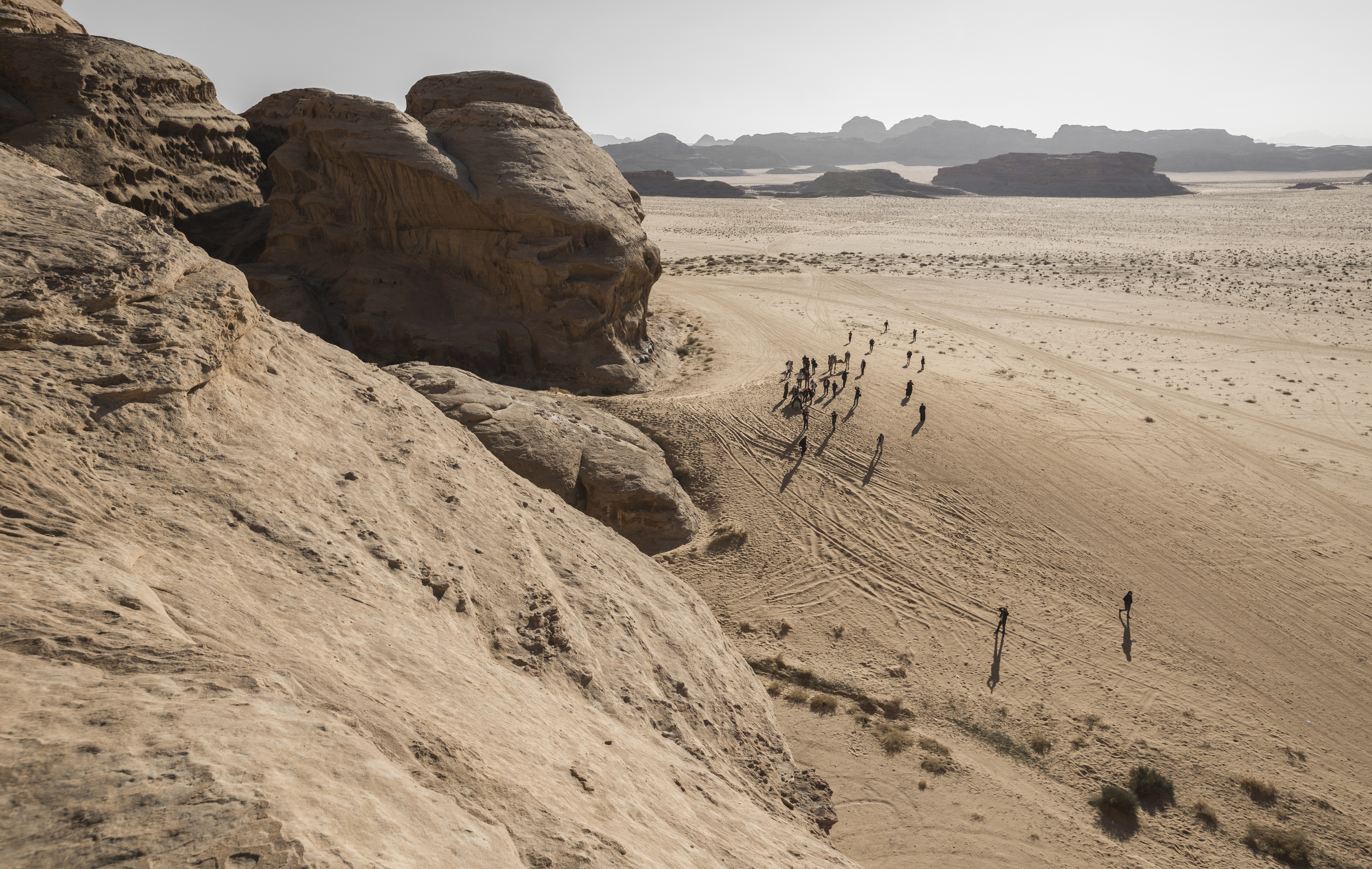 Lost in Wadi Rum
