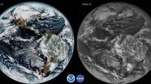 ناسا تطلق صور رائعة للأرض من قمرها الصناعي الجديد