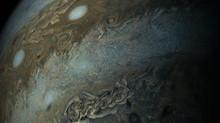 صور رائعة للمشتري صورت في رحلة ناسا