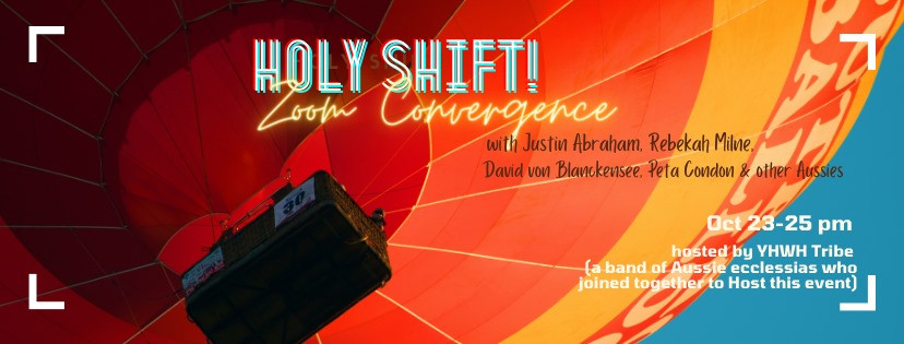 Holy Shift Zoom event