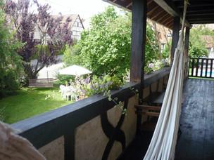 Une petite sieste dans le hamac
