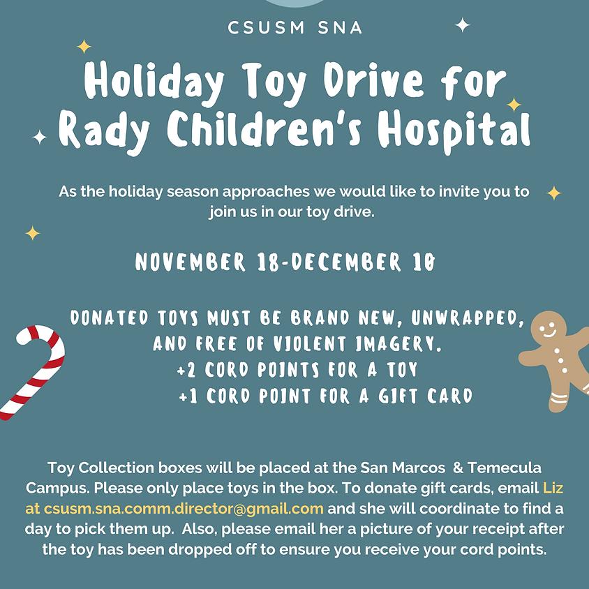 Rady Children's Toy Drive