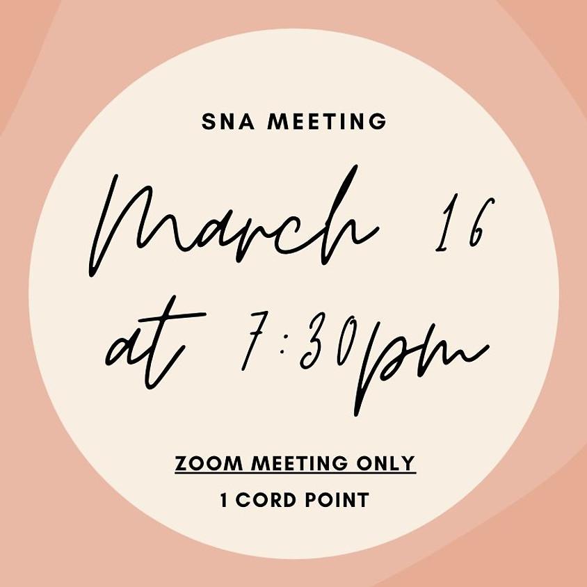SNA Open Meeting